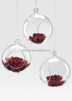 wedding decorative 100mm clear glass ornament balls MH-12524