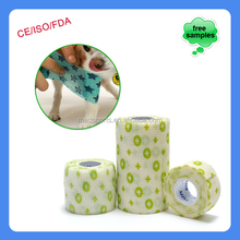 Color Veterinary Guality Elastic Cohesive Bandage