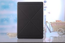 Leather Tablet Case For iPad air transformer fold for ipad smart cover
