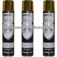 300ml aerosol reflectante de oro brillante pintura en aerosol