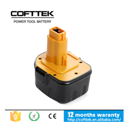 superior Quality Replacement dewalt 12V ni-mh Power tool battery,Dewalt 3.0ah batteries