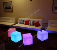 led light up acrylic lounge decor furniture for events party wedding