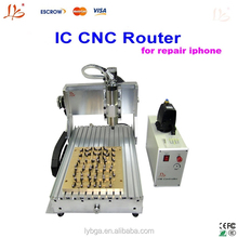 Perfectly combined producs of BGA & CNC LY IC cnc router for iPhone Main Board Repair, cnc router machine