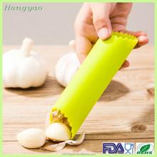 Flexible FDA silicone garlic peeler tube/silicone rubber garlic peeler tube