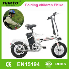CE certificated pocket 14 inches electric bike