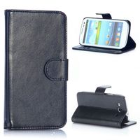 Crazy Horse Texture Wallet Flip PU Leather Case for Samsung Galaxy S3