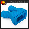 China made high performance double heads rubber hose rubber bellows tube
