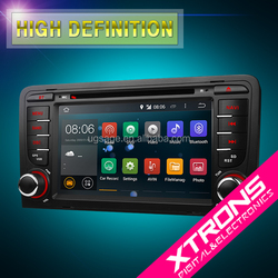 """XTRONS PF73AA3A 7"""" Android 4.4.4 quad-core android bluetooth car radio 2 din for audi a3 with gps wifi 3g 1080P video"""