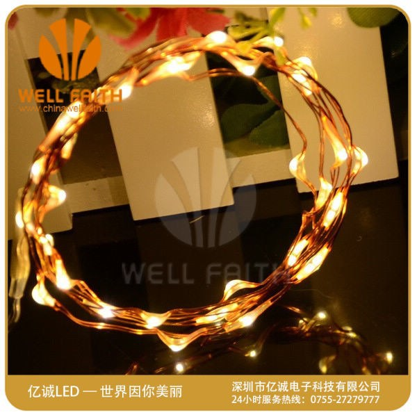 Battery Powered Waterproof Led String Lights - Buy Led Underwater String Lights,Cr2032 Battery ...