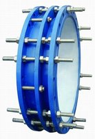 Pipe Vibration Isolator Discount on Double Flanges Transmission Joint