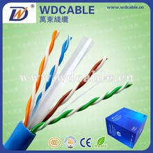 Cat 6 UTP Cable Specification Fire Resistant Cat6 Cable