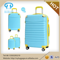 ABS +PC lugggage travel luggage with 4 universal wheels