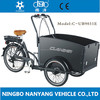 cargo tricycle with front wood box Nanyang UB9031E