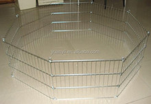 Metal folding wire rabbit enclosure pet fence exercise yard