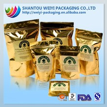 Custom design print tea foil packaging pouch made in China