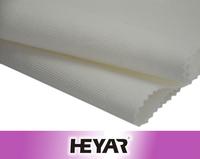 White Organic 100% Cotton Jacquard Netting Mesh Fabric