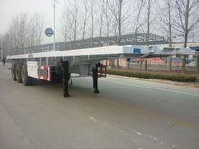 3 axles 50 ton low bed container semi-trailer landing leg