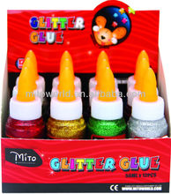 50gr metallic color quick dry glitter glue
