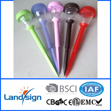 new produce traffic signal pole decorate garden and yard value coloured solar solar plastic path light XLTD-939