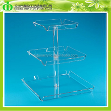 DDC-0100 ISO9001 Chinese Manufacture Sells Acrylic Cupcake Display Tray