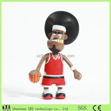 Oem funny vinyl toy manufacturer,basketball player vinyl figure,Oem funny basketball player vinyl figure toy