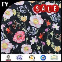 FREE SAMPLE Factory digital print polyester cdc fabric