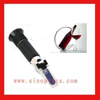 ophthalmic auto wine 0-80% W/W alcohol Refractometer RHW-80ATC