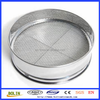 5 10 20 50 100 200 300 400 500 Micron Stainless Steel laboratory wire mesh test sieve