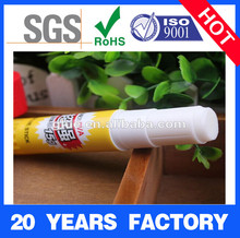 Solid glue stick for papers, pvp glue stick