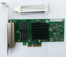4 Port Network Card I340-T4 Server Adapter 1Gbps PCI-Express RJ45 Chipset 82580 E1G44HT - 1 year warranty