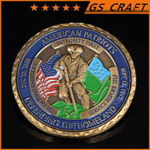 NO MOQ!Enamel metal challenge coin, Custom medal coins,commemorative round coins