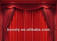 Stage screen curtains