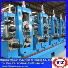 ERW roll forming machine/tubular profile galvanized steel roll forming machine