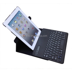 360 Rotating Keyboard Case Wireless Bluetooth Keyboard Case Cover for iPad 2 3 4