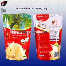 Stand up plastic bag for food