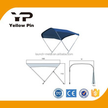 Marine hardware Awnings for boat/marine/inflatables 3 Arms Aluminum, louver for boat, sunshade for boat/inflatable
