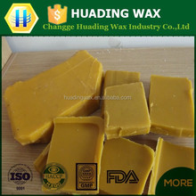 100% Nature refined Food grade and cosmetic grade beeswax wholesale/yellow beeswax