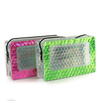 multifunction 2015 clear pvc cosmetic case