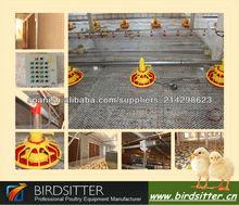 sistema de alimentación de la cacerola de criador de pollos de engorde y