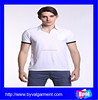 Wholesale 100% cotton men polo t-shirts Custom white plain polo shirt t shirt polo,OEM embroidery design polo t shirt