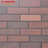 Home Decorative Artificial man-made red brick prices