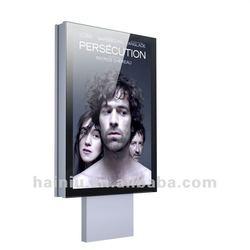 Single side light box aluminum frame