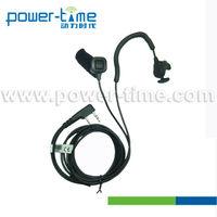 Talk Ear-Vibration 2-in-1 Speaker/Mic ear-bone headphone resistant to noise (PTE-540)
