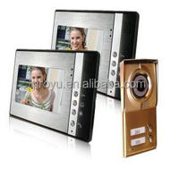 Nice Design Suit For 2 Families Used With Night Vision Function Building Intercom System
