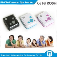 phone number gps tracker Hand Held Use gps trackerwith Android / iOS APP, SOS panic button