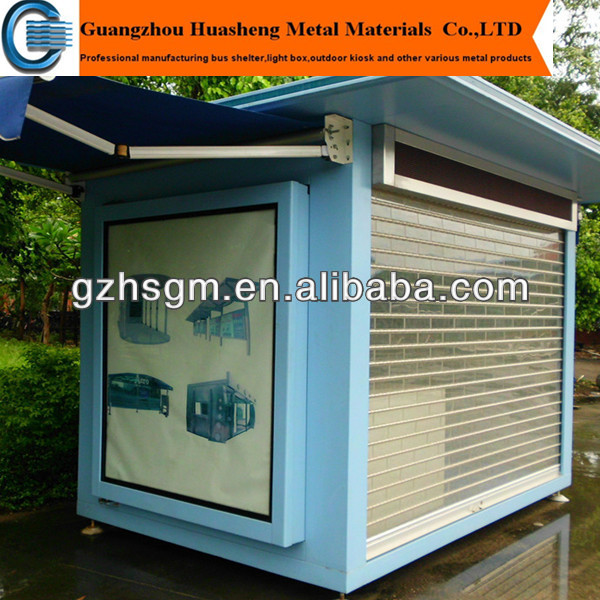 2015 prefab newspaper kiosk outdoor outdoor information kiosk booth hot sale view outdoor kiosk. Black Bedroom Furniture Sets. Home Design Ideas