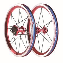 Las bicicletas chinas 20mm Alloy Rueda carretera china ruedas de la bici del carbón de ruedas