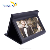 rectangle leather gift box photo album pu leather book packaging box