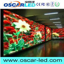 oscarled led video Commercial SMD3528 LED HD full color waterproof LED p6.25 china video outdoor led dot
