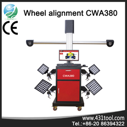 CWA380 optical wheel alignment with Mulit-language